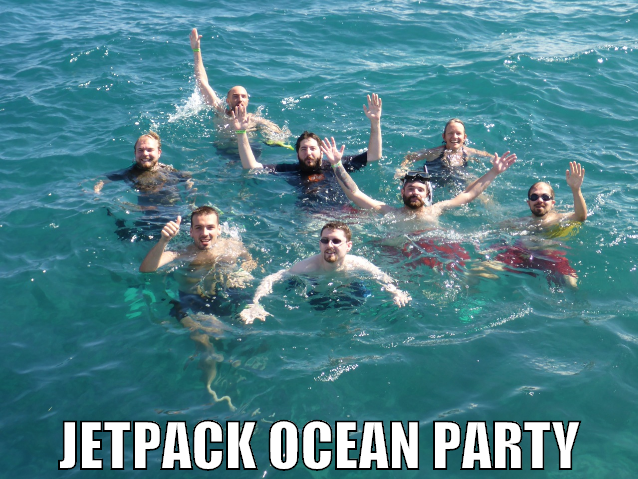 Jetpack Ocean Party