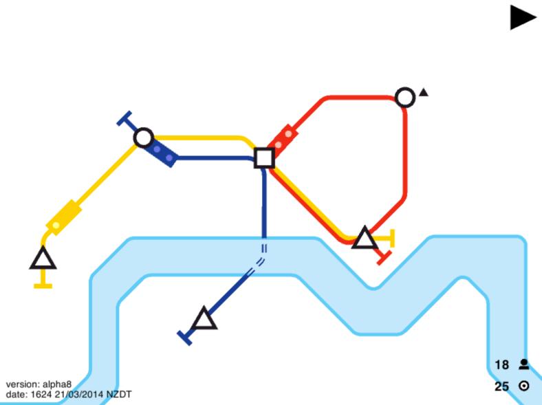 Mini Metro - Early game