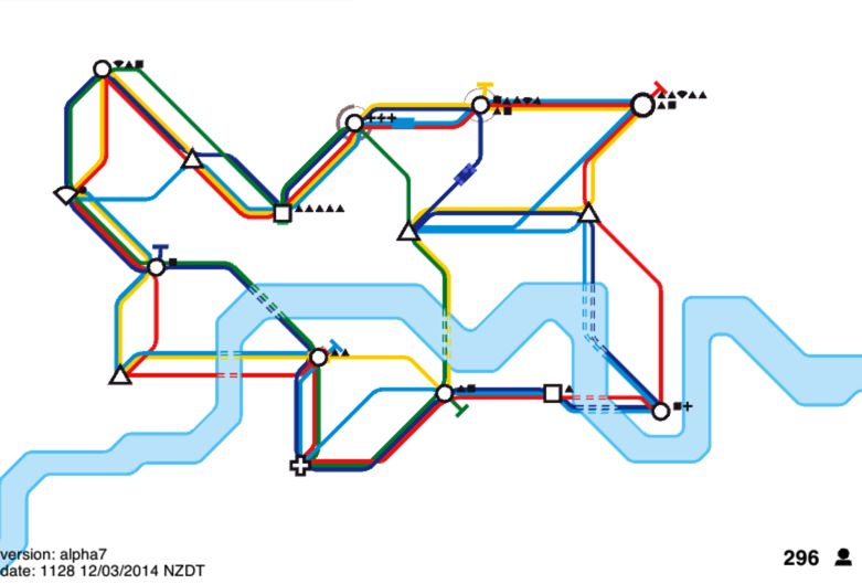 Mini Metro - Mega Loop