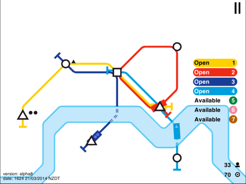 Mini Metro - Multiple Lines