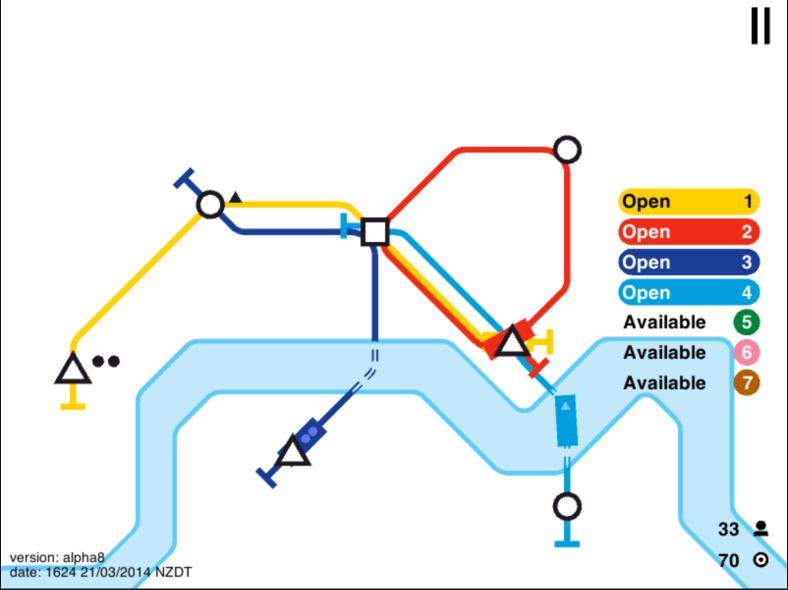 Mini Metro - Multiple Lines