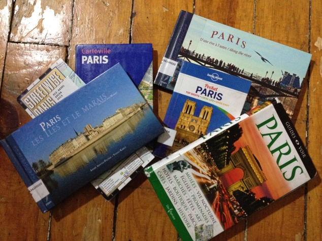 Just a few books on Paris!
